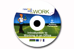 Newhop Skills for Work: Introduction to working in an office CD-ROM